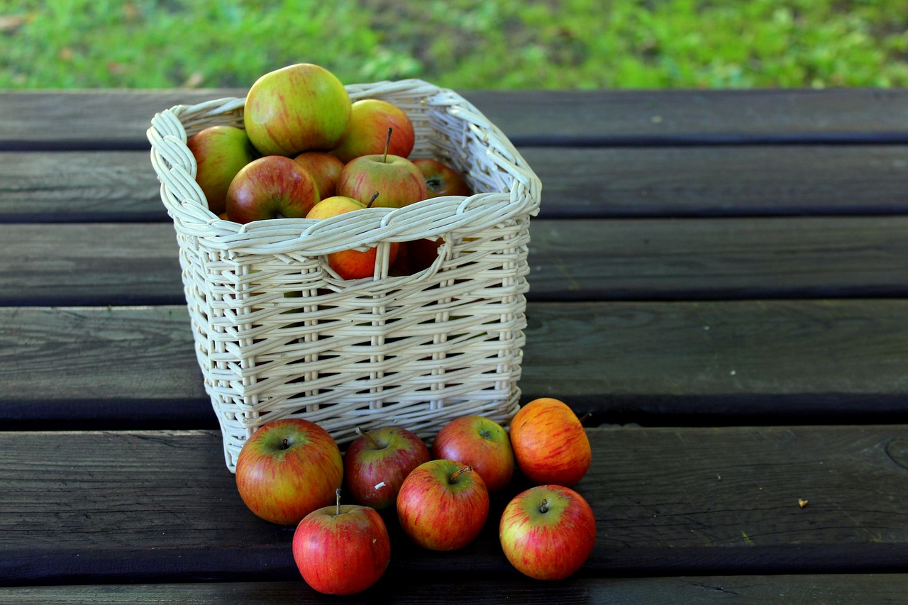Fresh and tasty fruits